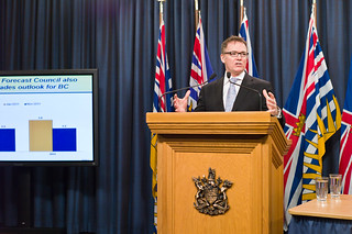 B.C. maintains prudent fiscal course as revenues decline