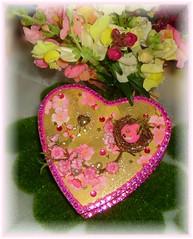 Love Me Tendar altered music jewelry box