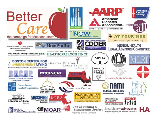 Campaign For Better Care member logos