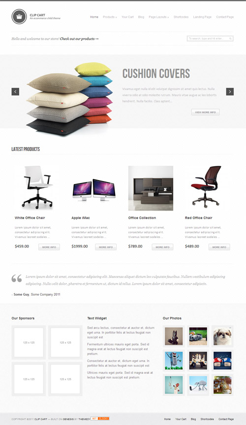 clip-cart-wordpress-theme