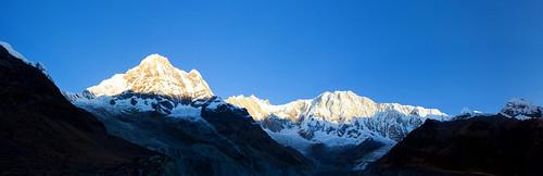 nepal panorama sunrise peak abc annapurna dakshin 日出 全景 尼泊尔 annapurnabasecamp annapurnasouth annapurnai annapurnaconservationarea 安纳普尔纳 安纳普尔纳大本营