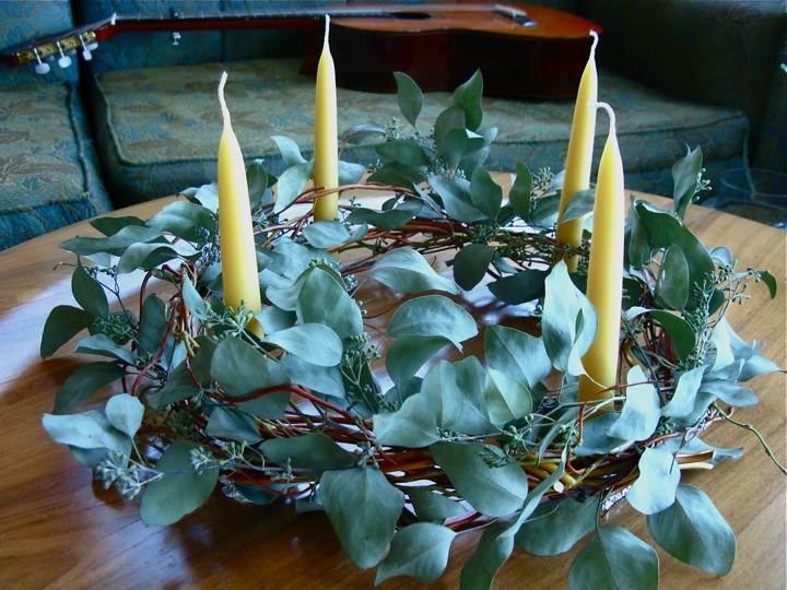 modern advent wreath 004