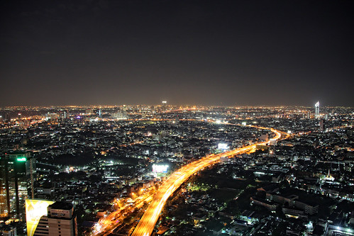 Bangkok by Night from Sirocco