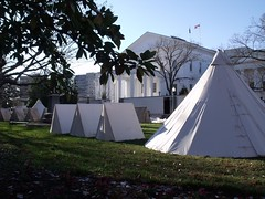 Lincoln tents capitol by Teckelcar