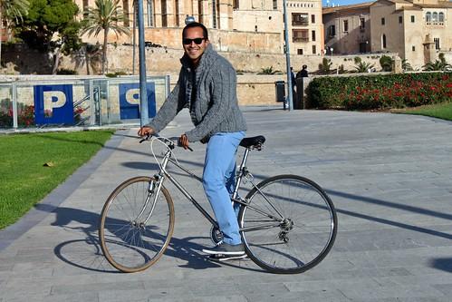 En bici por la Seu