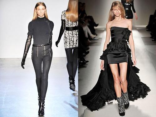 Anna-Selezneva-vestido-negro-corto