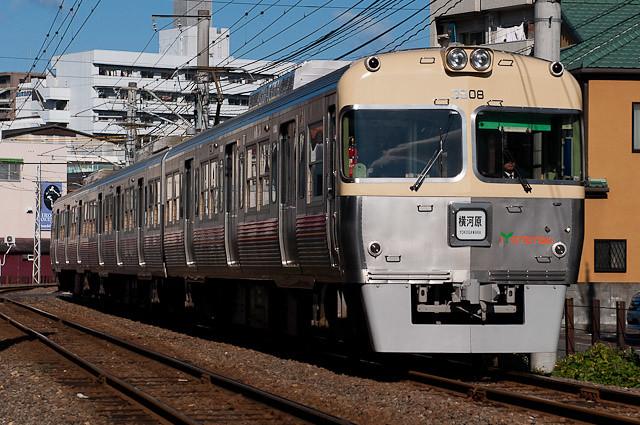 伊予鉄道3000系 3008F 0304
