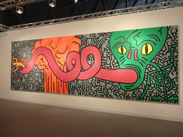 Keith Haring $4.5mln work at Galerie Enrico Navarra