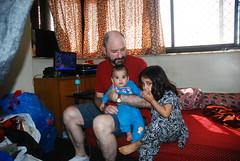 Dr Glenn Has Two Kids Marziya And Nerjis Asif Shakir by firoze shakir photographerno1