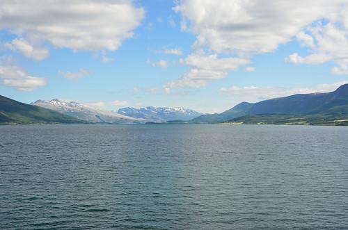 Norvegian coast near Nesna