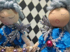 Ice Tree Queen Ornament Dolls! 22