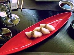 Sushi de pez mantequilla - Restaurante Fuku - Madrid