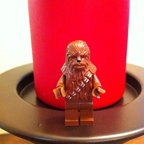 Project 365 338/365: Lego Star Wars Advent Calendar: Day 6. Chewbacca or Chewie. He was a legenary Wooiee from Kashyyyk and co-pilot of Han Solo's ship, the Millenium Falcon. #starwars #adventcalendar