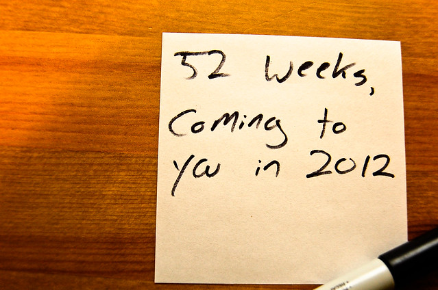 52 weeks of blogging in 2012 for Online Colleges