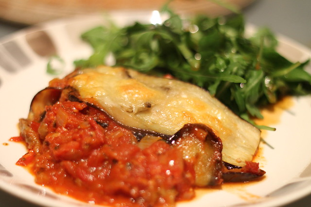 Aubergine Parmigiana recipe from Hugh Fearnley-Whittingstall's Everyday Veg