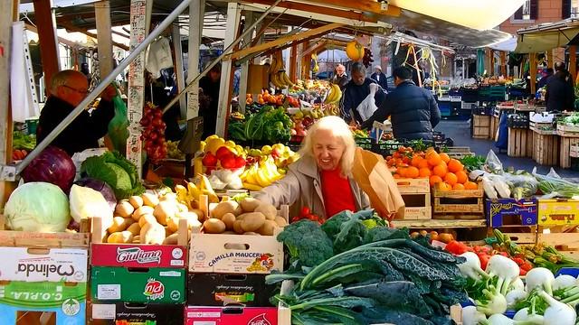 Mercato di Piazza San Cosimato