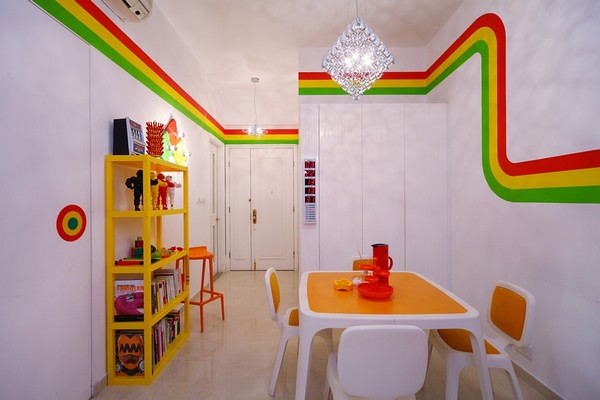 Dinning-Home-Decor-Ideas-with-Vivid-Colors-in-Hong-Kong-Rainbow-Image