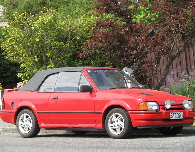 1987 ford escort xr3i cabriolet flickr photo sharing. Black Bedroom Furniture Sets. Home Design Ideas