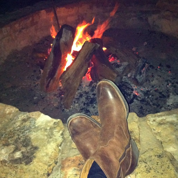 Campfire by Lori