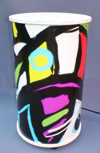 Velador con Pantalla Diseño y Decoración by Ludica Iluminacion
