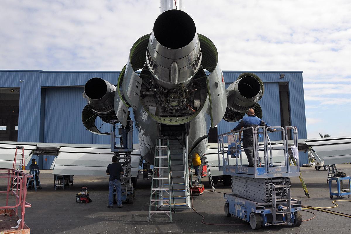 Boeing 727 Fuerza Aérea Mexicana 6484148431_01c5591a26_o