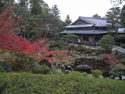 奈良中心部で楽しめる庭園の紅葉『吉城園』@奈良市