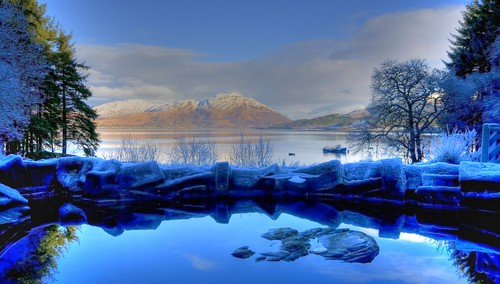 "blue sky water landscape scotland loch jimbell pentaxk10d flickraward ""flickraward5"" mygearandme onlythebestofnature musictomyeyeslevel1"