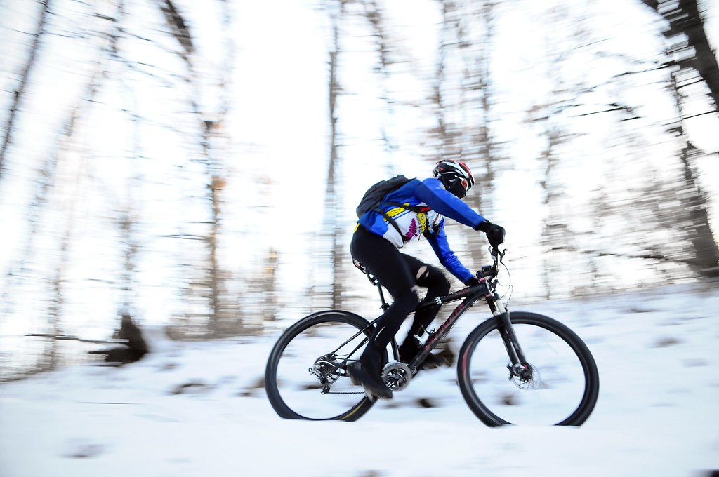 Cold Escape - Winter Mountain Biking in Eagan, MN