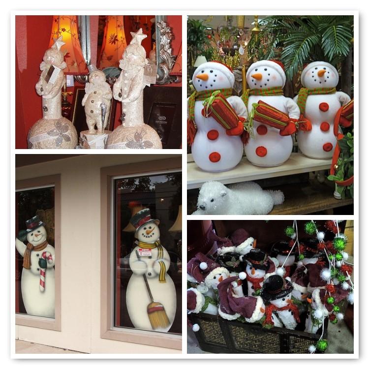 Mosaic Snowmen