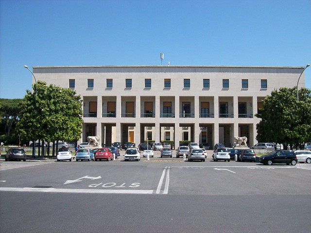 Roma palazzo uffici eur spa flickr photo sharing for Uffici roma eur
