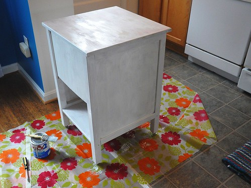 priming the kitchen cart
