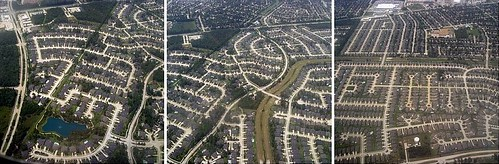 Houston suburban sprawl (by: Karen Blumberg, creative commons license)