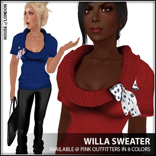 ad - Willa Sweater