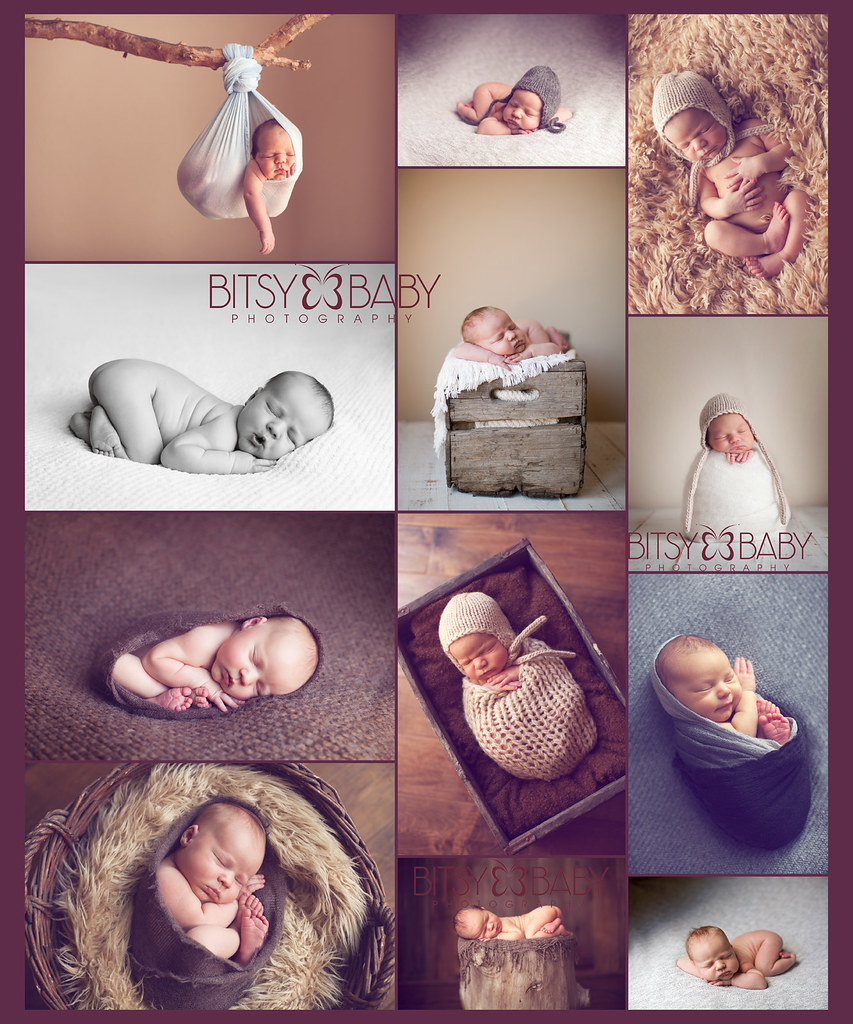 baby photography workshop Baby as Art collage