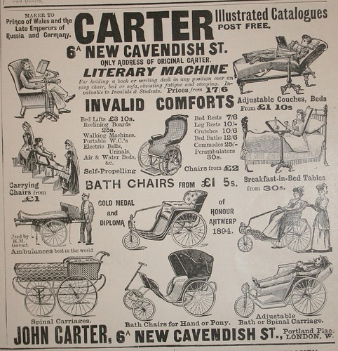 Carter Literary Machine/Invalid Comforts