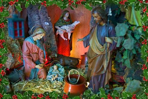 Belén Tradicional -  Navidad 2011 (El Hornillo -  Miraflor -  Teror) Autor : Silvestre Bello Rodriguez by El coleccionista de instantes