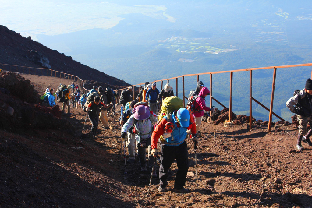 Mt. Fuji experience report (Yoshida route) Part3 (25)