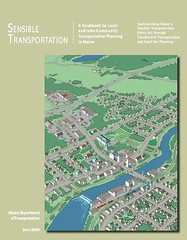 Maine Sensible Transportation Handbook, cover