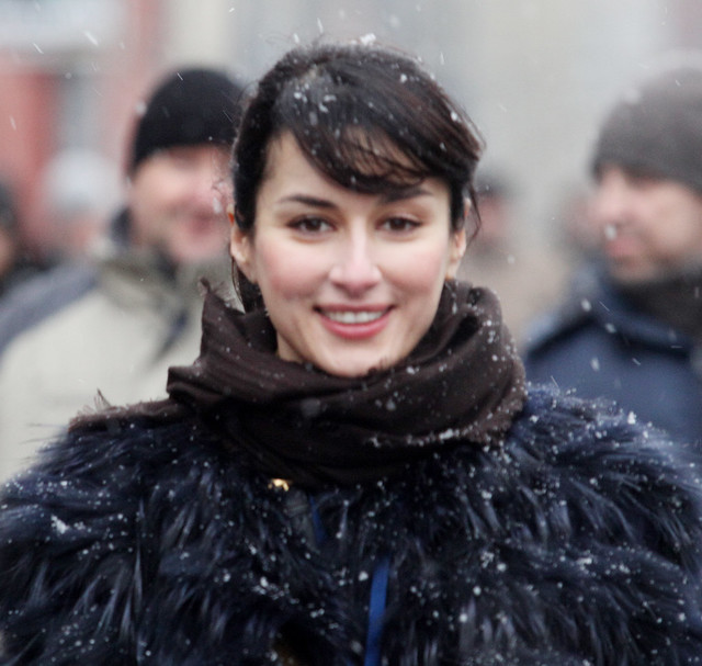 Тина Канделаки на митинге 10 декабря