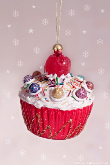 Christmas decorations (cake)