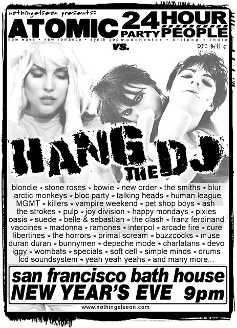 2011 Hang The DJ Poster