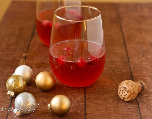 Cranberry Bellinis