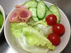 朝食サラダ(2011/12/9)