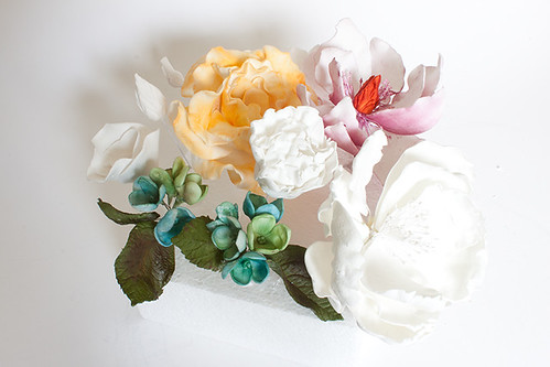 Large Sugar Flowers
