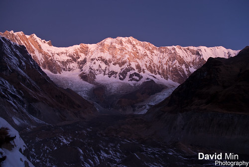 Annapurna I (8 091m) @Sunrise - 10th Highest Mountain in the World