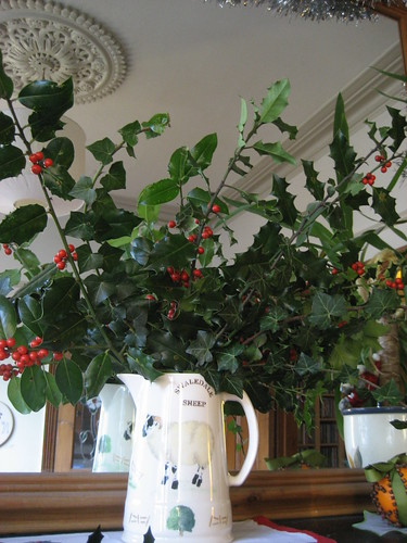 A jug of holly and ivy