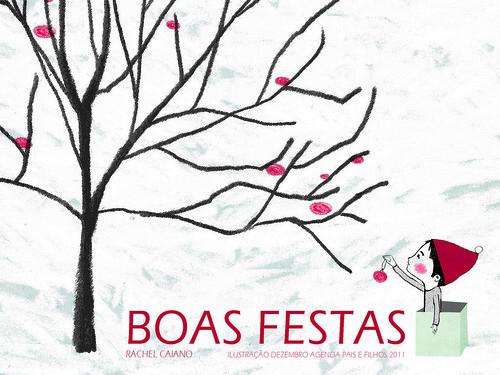 postal boas festas 2011 by rachel.caiano