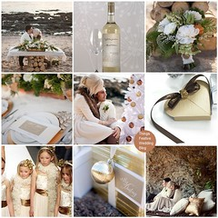 winter beach wedding theme