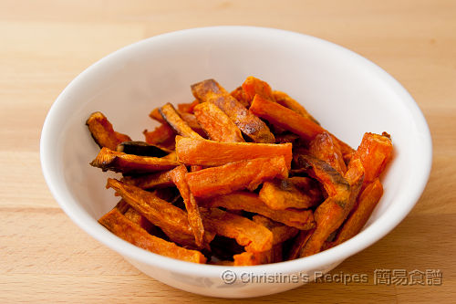 焗甜薯條 Baked Sweet Potato Chips