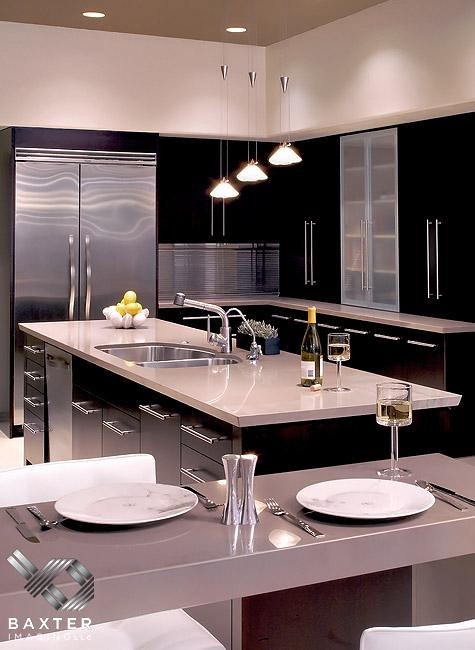 Elegant modern kitchen